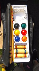 croquet set in Lakenheath, UK