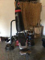 Everlast Punching Bag/bench in Travis AFB, California