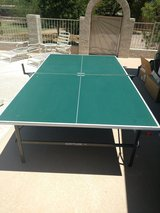 Ping Pong Table + paddles and balls in Davis-Monthan AFB, Arizona