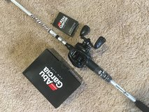 Abu Garcia Veritas Rod and Abu Garcia Revo X in Naperville, Illinois