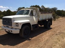 Ford F700 dump truck in Alamogordo, New Mexico
