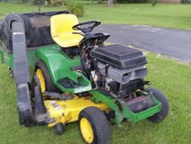 John Deere Riding Lawn Mower with leaf and975 clipping catcher in DeRidder, Louisiana