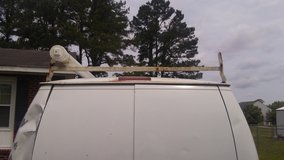 Van ladder rack in Camp Lejeune, North Carolina