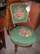 Antique Chair with Needlepoint in Cherry Point, North Carolina