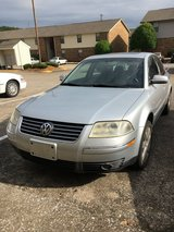 2001 VoltsWagon Passat in Fort Campbell, Kentucky