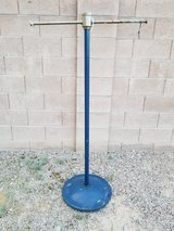 Heavy Windproof Solid Metal Sign Post Mount in Nellis AFB, Nevada