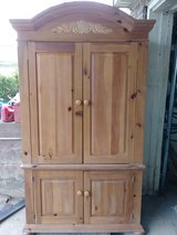 white pine armoire in Fort Knox, Kentucky