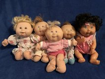 Cabbage Patch Dolls from 1995 in Byron, Georgia