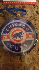 Chicago Cubs,2016 Hallmark Keepsake Ornament in Orland Park, Illinois