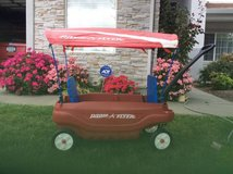 Radio Flyer Two Kid Wagon with Canopy in Travis AFB, California
