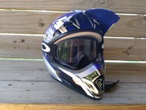 O'neal 5 series Helmet w/goggles in Fort Leonard Wood, Missouri