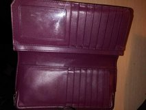 coach wallet purple in Fort Riley, Kansas