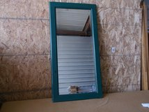 Old bevel edged mirror in Alamogordo, New Mexico