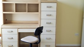 Desk, Hutch, Chair & Tower in Bolingbrook, Illinois