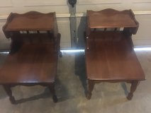 Solid wood. 3 piece coffee ?? and end tables in Fort Campbell, Kentucky