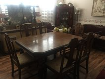 Dining Room Table and Chairs in Travis AFB, California