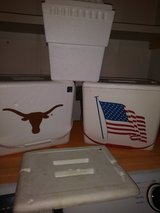 4 Foam coolers in Kingwood, Texas