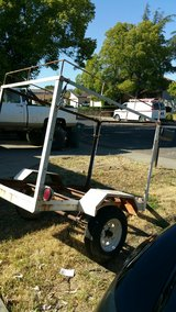 Utility trailer 4x6 with electrical in Travis AFB, California