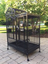 Large bird cage in Bolingbrook, Illinois