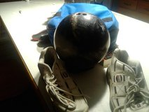 Youth bowling ball and  shoes in Bolingbrook, Illinois