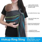 Like New! Vlokup Baby Sling Ring Sling Carrier Wrap in Fort Campbell, Kentucky