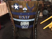 USAF Wine Barrel cooler in Roseville, California