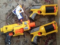 Nerf guns in Lakenheath, UK