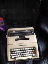 Olivetti lettera 35 typewriter in Lakenheath, UK