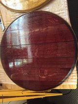 Wine Barrel Head Lazy Susan in Las Vegas, Nevada