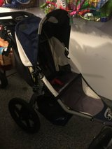 Bob Revolution jogging stroller with accessories bar in Lockport, Illinois