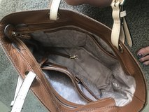 Michael kors brown leather purse in Misawa AB, Japan