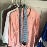 4 dress shirts and 2 ties in Ramstein, Germany