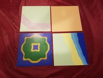 4 Lego 32x32 Baseplates Group 9 in Sandwich, Illinois