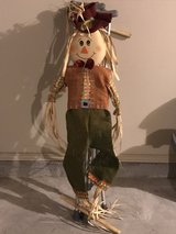 scarecrow decoration in Tinker AFB, Oklahoma