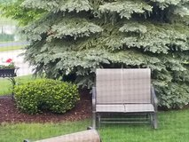 Patio glider 2 seat chair in Naperville, Illinois