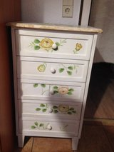 Hand-painted dresser in Ramstein, Germany