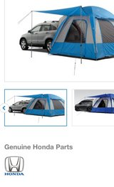 Honda CRV hatch tent in Oswego, Illinois