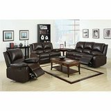 NEW! URBAN COMFY QUALITY LEATHER SOFA + LOVESEAT + CHAIR RECLINER SET in Camp Pendleton, California
