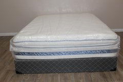 Queen Glenrose Pillowtop Mattress in Spring, Texas