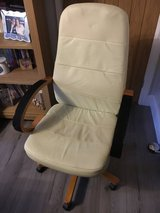 Leather grained office chair in Lakenheath, UK
