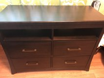 4 drawer wood dresser/media chest in Honolulu, Hawaii