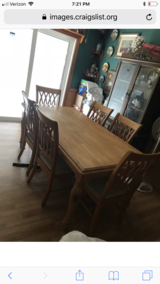 Wood Dining Room Table in MacDill AFB, FL