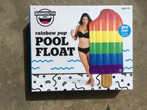 Pool float in Orland Park, Illinois
