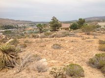 view lot in Yucca Valley, California