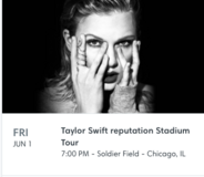 Taylor Swift Tickets in Joliet, Illinois