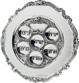 PASSOVER CLASSIC SILVER SEDER PLATE in Clarksville, Tennessee