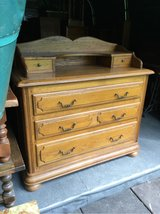 beautiful antique dresser solid oak from France in Ramstein, Germany