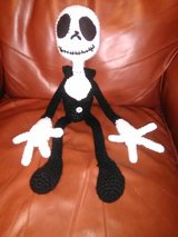 Jack Skelington plushy in Fort Leonard Wood, Missouri