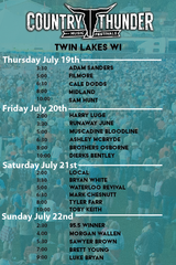 RSVP Country Thunder Twin Lakes WI 4-day in Bolingbrook, Illinois