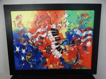 KAT signed Giclee on Canvas in Pearland, Texas